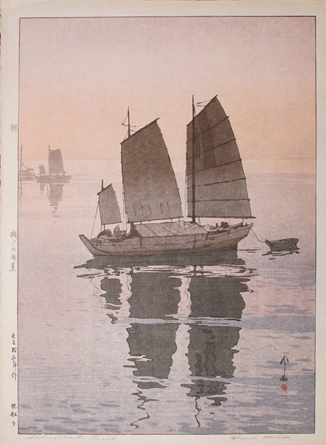 , 'Sailboats - Evening,' 1926, Ronin Gallery