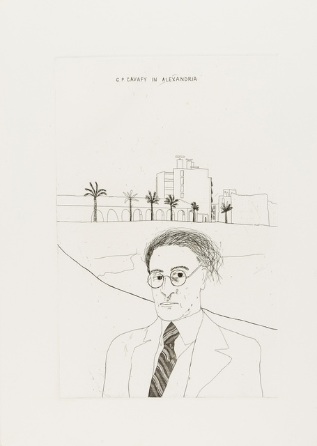 David Hockney, 'Two plates, from Illustrations for Fourteen Poems from C.P. Cavafy', 1966, Forum Auctions