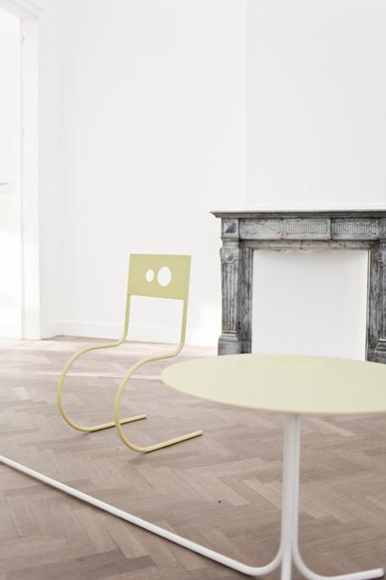 , 'Chair and Table ,' 2017, Gallery Sofie Van de Velde