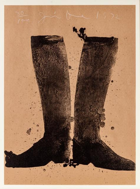 Jim Dine, 'Boots', 1972, Hindman