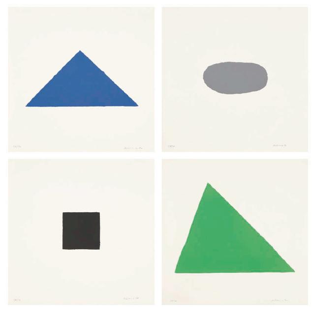 , '4 Prototypen,' 1970, Galerie Andreas Binder