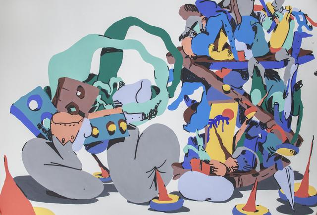 , 'Smurfy Book Shelve,' 2014, Ruttkowski;68