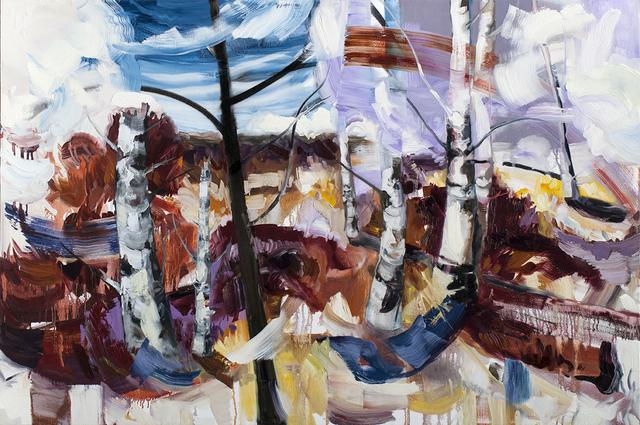 , 'The Park,' 2017, Bau-Xi Gallery