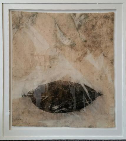 , 'Black Leaf,' 2016, Margaret River Art Gallery