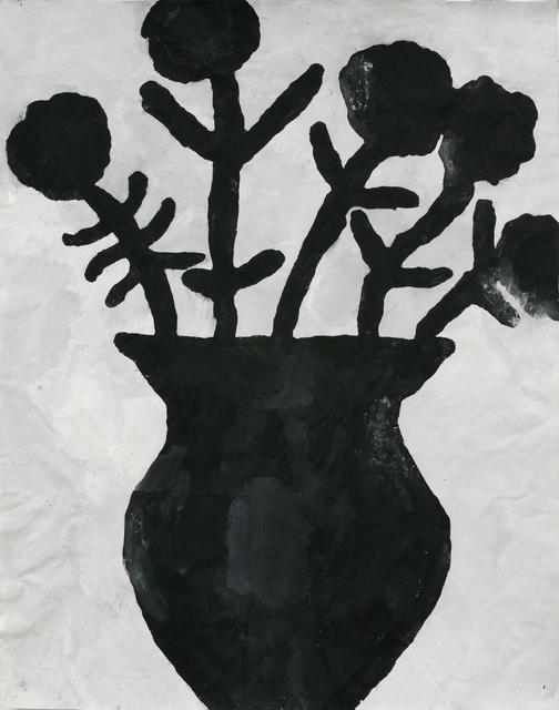 , 'Black Flowers,' 2012, William Shearburn Gallery