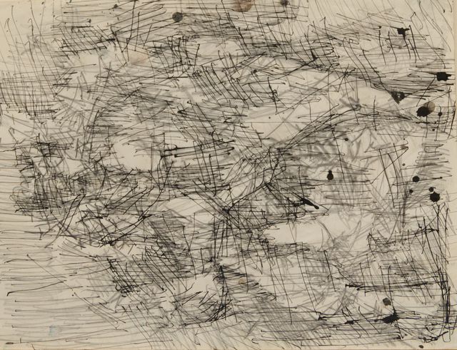 Arthur Monroe, 'Black/white sketch', Unknown, The Art Collection of the University of Agder