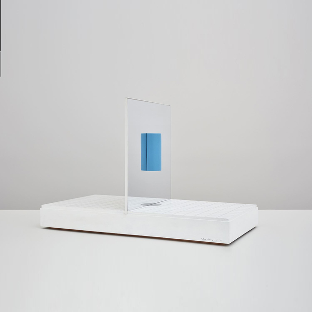 , 'Cube and Cylinder,' 1967, Kayne Griffin Corcoran