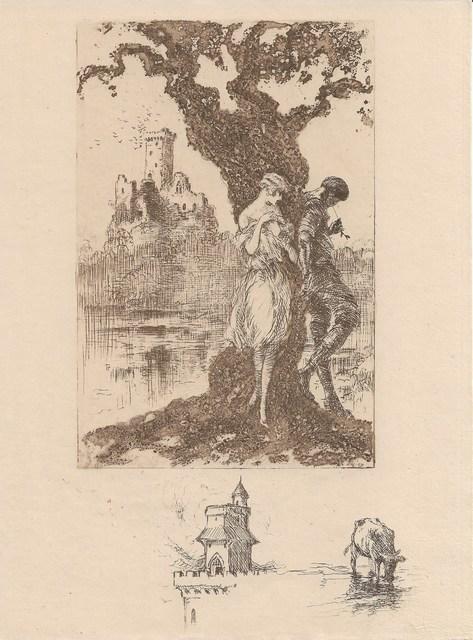 Louis Icart, 'Bigarrure', 1928, Sylvan Cole Gallery