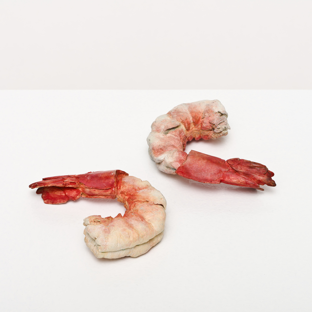 , 'shrimp and shrimp,' 2015, Lora Reynolds Gallery