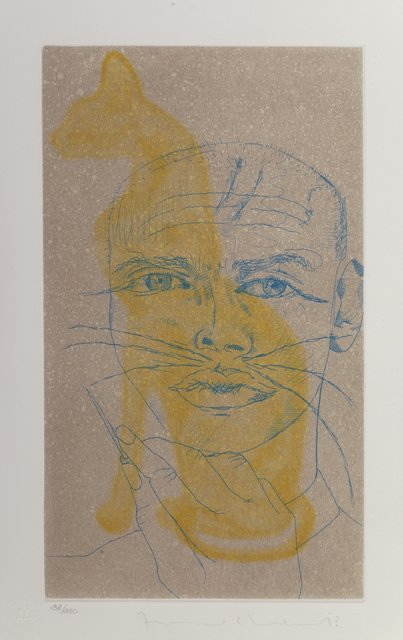 Francesco Clemente, 'Life is Paradise, from The Portraits of Francesco Clemente', 1999, Heritage Auctions