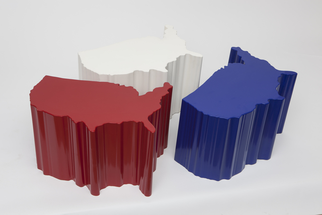 , 'USA tables,' 1993, Magen H Gallery