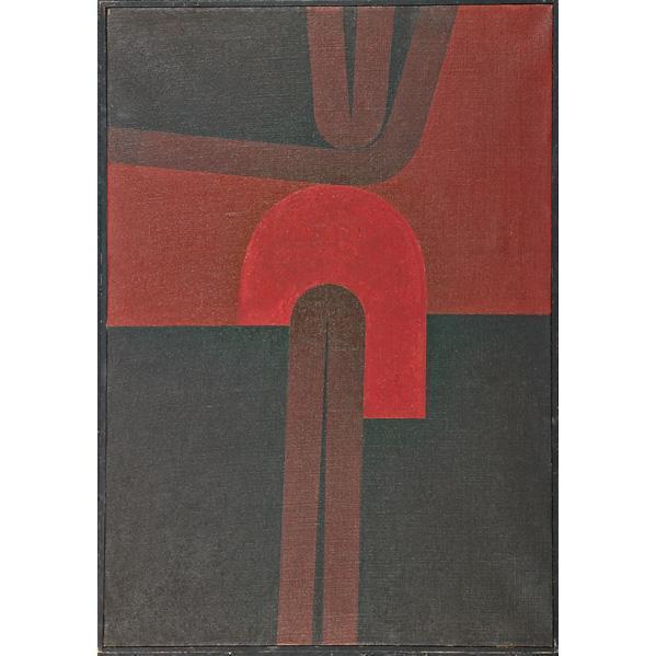 , 'Emergence into Red,' 1961, Galería de las Misiones
