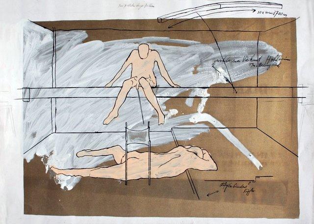 , 'Der 7 Meter lange Balken,' 1969, Galerie Elisabeth & Klaus Thoman