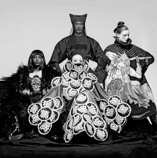 , 'Yamamoto + Models, VOGUE,' 1970, Holden Luntz Gallery