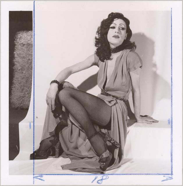 , 'Piège pour un travesti / Tirage préparatoire - Rita Hayworth,' 1972, Galerie Christophe Gaillard