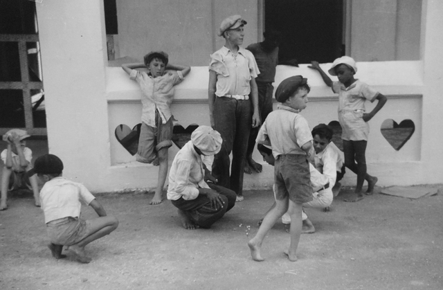 , 'Children Playing Marbles, St. Thomas, U.S. Virgin Islands,' 1941, PDNB Gallery
