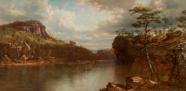 , 'Lake Mohonk,' 1872, Questroyal Fine Art
