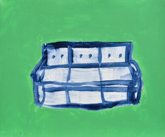 , 'Blue Sofa in green room,' , Galerie C.O.A