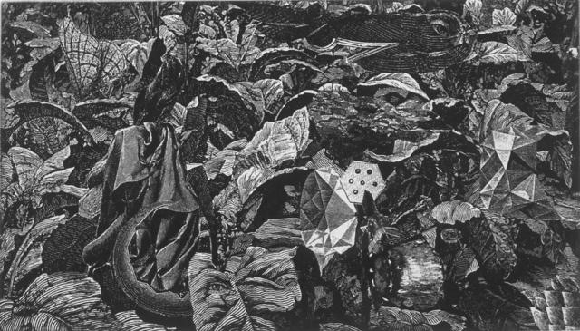 , 'Dennis Hopper One-Man-Show, Volume I, Image VII,' 1971, Crown Point Press