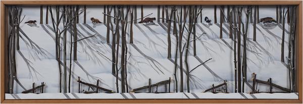 , 'Deadfalls,' 1995, David Barnett Gallery