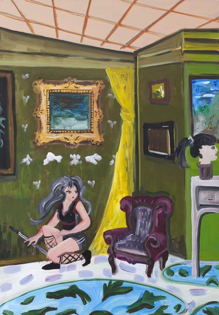 Fátima Pecci Carou, 'Cabeza', 2018, Painting, Acrylic on canvas, PIEDRAS