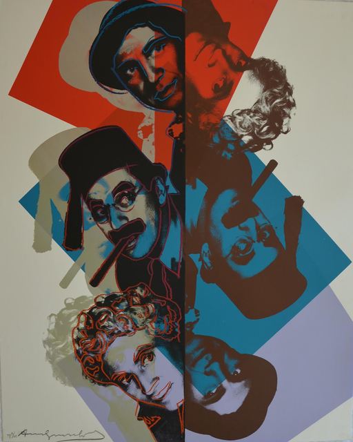 Andy Warhol, 'Marx Brothers (FS II.232) Trial Proof', 1980, Revolver Gallery