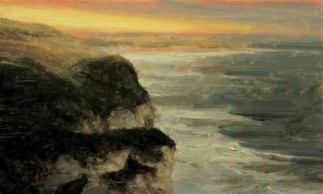, 'Winter Sun, Whiterocks,' 2017, Mall Galleries