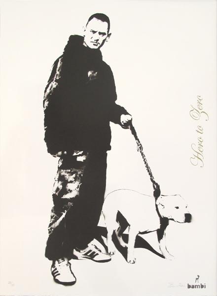 Bambi, 'Hero to Zero', 2013, Print, Screenprint, Hamilton-Selway Fine Art