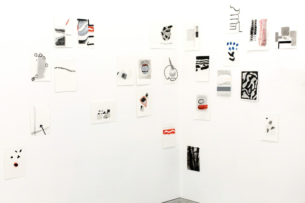Agnes Maes, works on paper.
