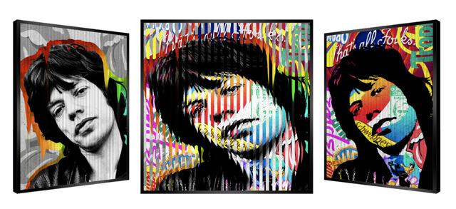 Patrick Rubinstein, 'People & Brand - Mick Jagger ', GFA1037, Gefen Fine Art