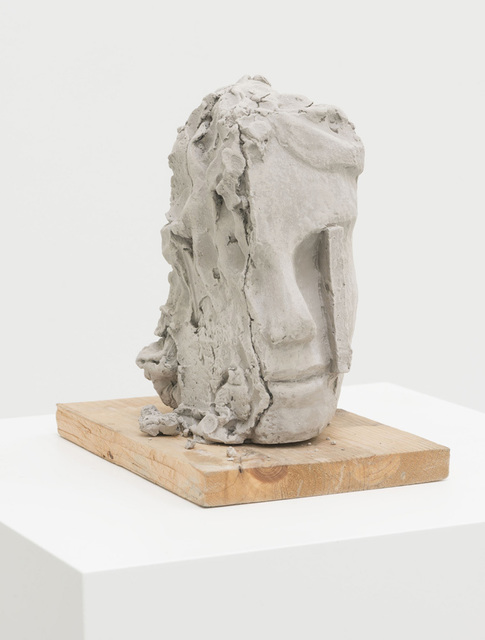 , 'Unfired Clay Head,' 2014, Zeno X Gallery