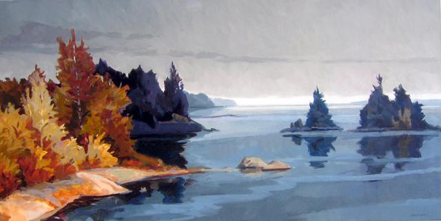 Philip Koch, 'Deer Isle', 2009, Edward Hopper House