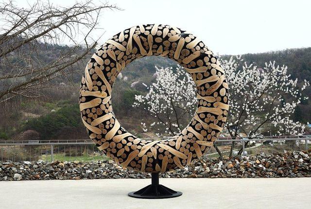 Jaehyo Lee, '0121-1110=116045', 2018, Sculpture, Wood chestnut, Inception Gallery