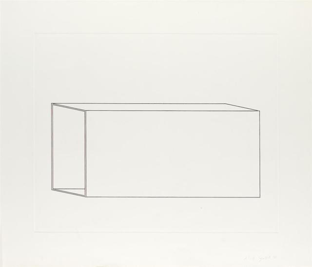 Donald Judd, 'Untitled (Schellmann 108)', 1978, inde/jacobs