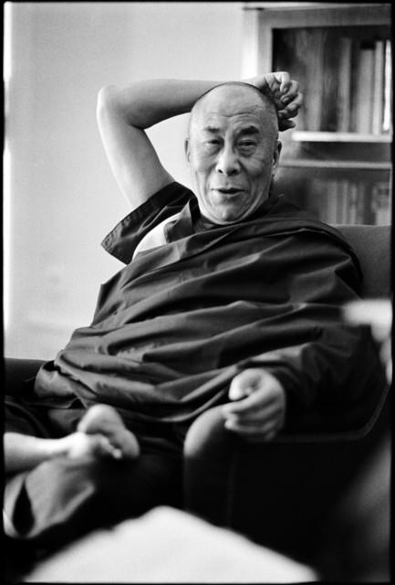 , 'Dalai Lama,' 2002, Galerie Wenger