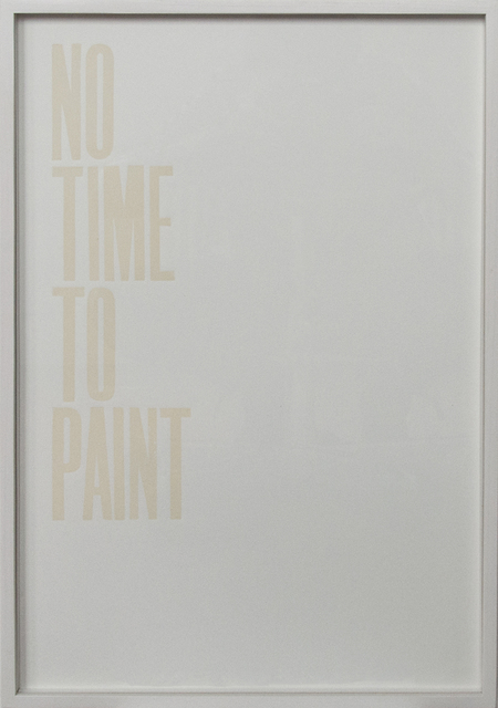 , 'Honest work (No time),' 2011, annex14