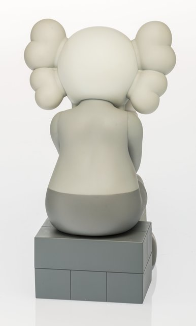 KAWS, 'Companion (Passing Through) (Grey)', 2013, Other, Painted cast vinyl, Heritage Auctions