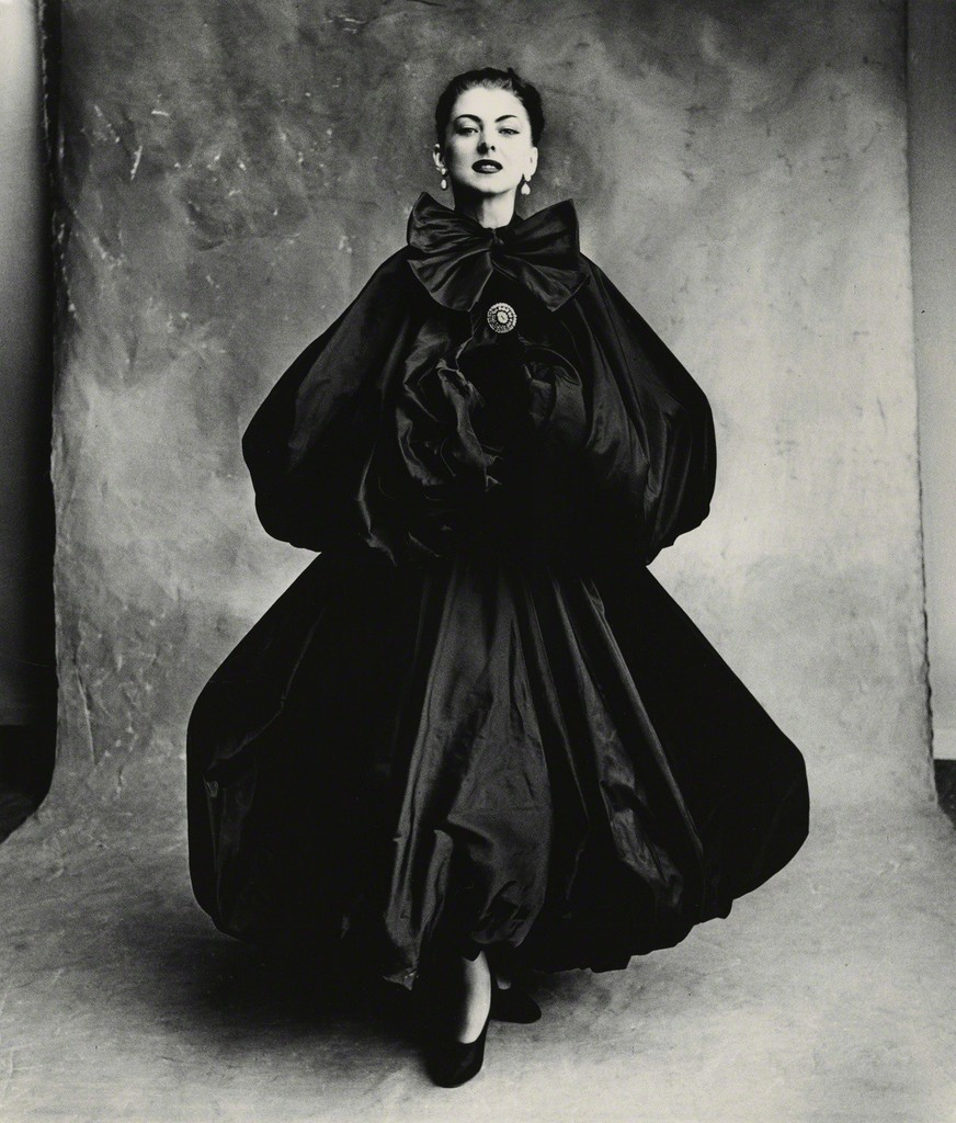 Irving penn balenciaga harem dress diane paris 1950 for Irving penn gallery