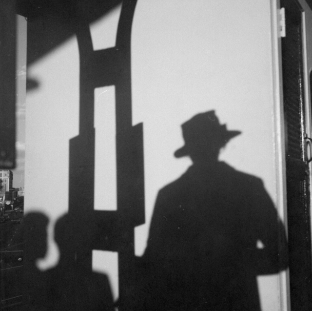 , 'VM19XXW03655 – Self-Portrait, Chicago, n.d. Self-Portrait, Shadow with Hat,' Printed 2017, KP Projects