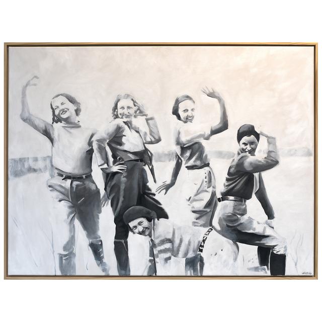 , 'Ladies of Lake Worth: The Whole Gang,' 2016, Jen Mauldin Gallery