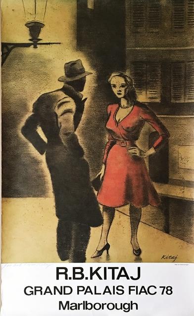 R. B. Kitaj, 'Femme de Peuple II', 1978, Alpha 137 Gallery