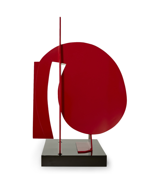, 'Deconstruction of a Circle in Red,' 2013, CIRCA Gallery