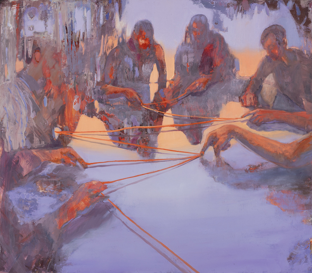 Emily LaCour, 'The Ties that Bind', 2020, Painting, Oil on panel, Valley House Gallery & Sculpture Garden