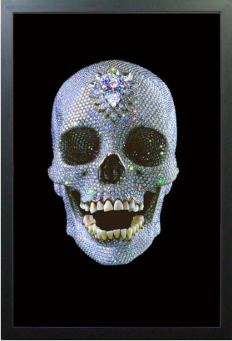 Damien Hirst, 'FOR THE LOVE OF GOD LENTICULA', 2012, Arts Limited