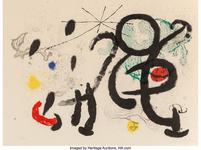 Joan Miró, 'Danse Barbare', 1963, Heritage Auctions
