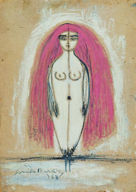 , 'Standing (Self-Portrait),' 1968, Galerist