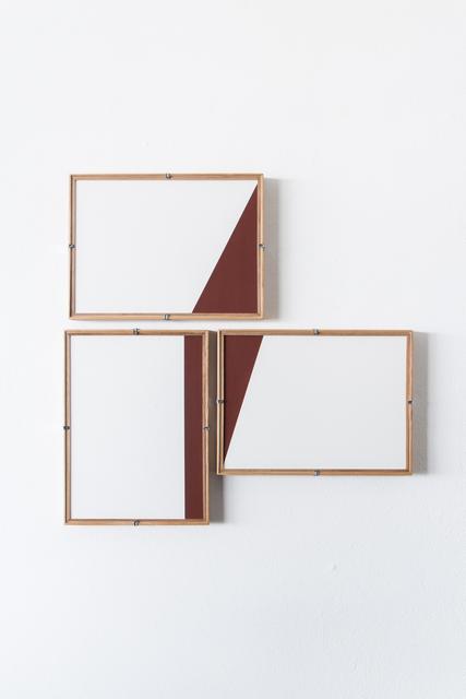 , 'Red Composition No.15,' 2017, Casa Triângulo