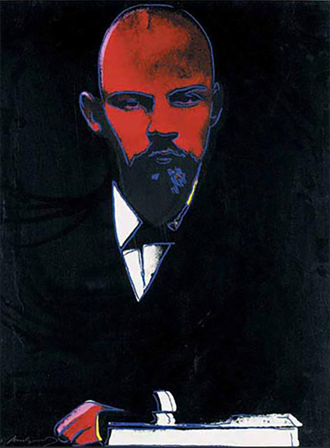 Andy Warhol, 'Black Lenin', 1987, Drawing, Collage or other Work on Paper, Screen print on Arches 88 paper, Andipa