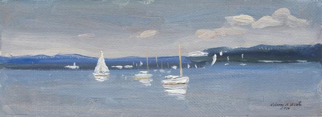 , 'Dering Harbor,' 2016, Grenning Gallery