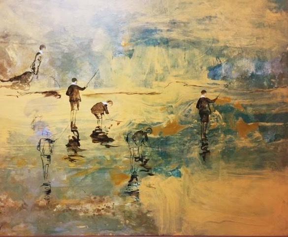 , 'Niños pescando / Kid´s fishing ,' 2018, Artflow Galeria